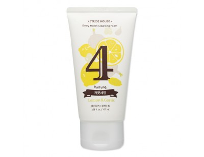 Etude House Every Month Cleansing Foam #4 Lemon & Garlic