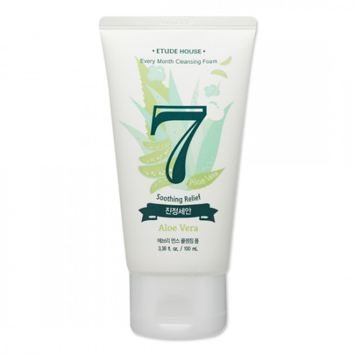 Etude House Every Month Cleansing Foam #7 Aloe Vera