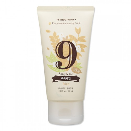 Etude House Every Month Cleansing Foam #9 Rice