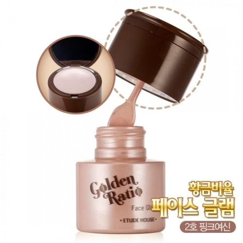 Etude House Golden Ratio Face Glam #2 สีชมพู