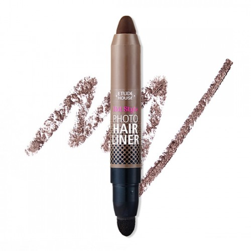 Etude House Hot Style Photo Hair Liner #1 Dark Brow