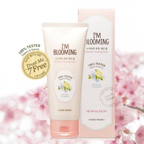 Etude House I'm Blooming Moisture Cleansing Foam