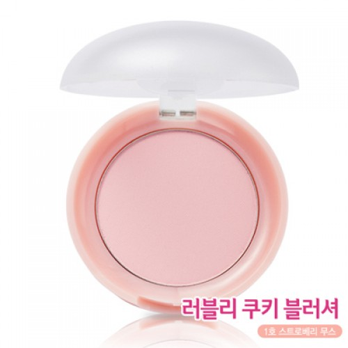 Etude House Lovely Cookie Blusher #1 Strawberry Mousse
