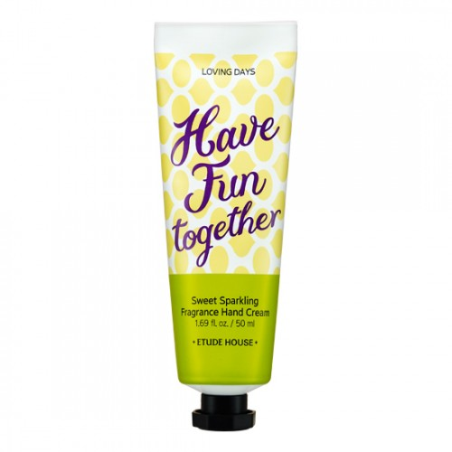 Etude House Loving Days Sweet Sparkling Fragrance Hand Cream #Have Fun Together