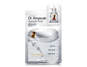 Etude House Dr.Ampoule Dual Mask Sheet #Whitening Care