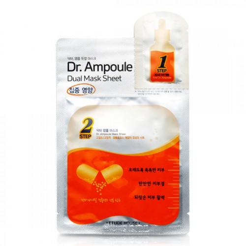 Etude House Dr.Ampoule Dual Mask Sheet #Vital Care