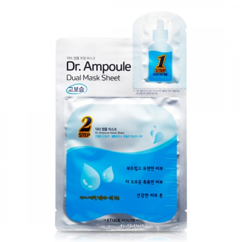Etude House Dr.Ampoule Dual Mask Sheet #Essential Care