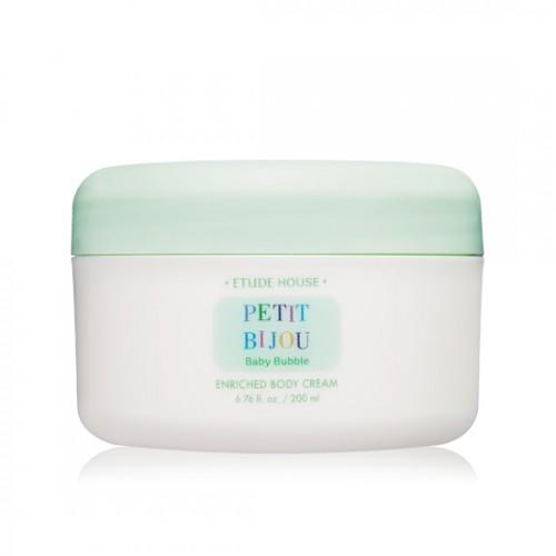 Etude House Petit Bijou Baby Bubble Enriched Boby Cream