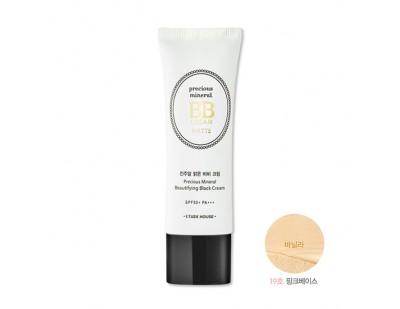 Etude House Precious Mineral Beautifying Block Cream Matte SPF50+ PA+++ #19 Vanilla