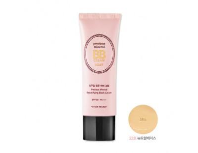 Etude House Precious Mineral Beautifying Block Cream Moist SPF50+ PA+++ #22 Sand