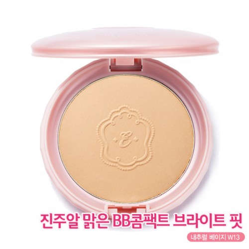 Etude House Precious Mineral BB Compact Bright Fit SPF30 PA+++ #W13 ผิวสองสี