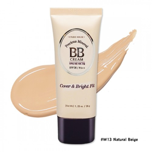 Etude House Precious Mineral BB Cream Cover & Bright Fit SPF30 PA++ #W13 Natural Beige