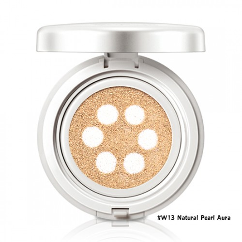 Etude House Precious Mineral Any Cushion Pearl Aura SPF50+ PA+++ #W13 Natural Pearl Aura
