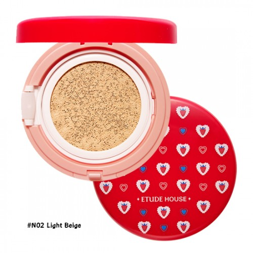 Etude House Precious Mineral Any Cushion Berry Delicious SPF50+PA+++ #N02 Light Beige