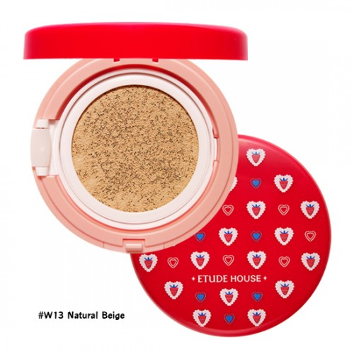 Etude House Precious Mineral Any Cushion Berry Delicious SPF50+PA+++ #W13 Natural Beige