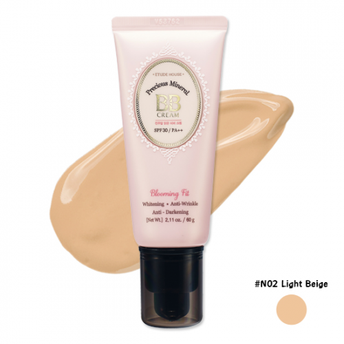 Etude House Precious Mineral Blooming Fit BB Cream SPF30 PA++ #N02 Light Beige
