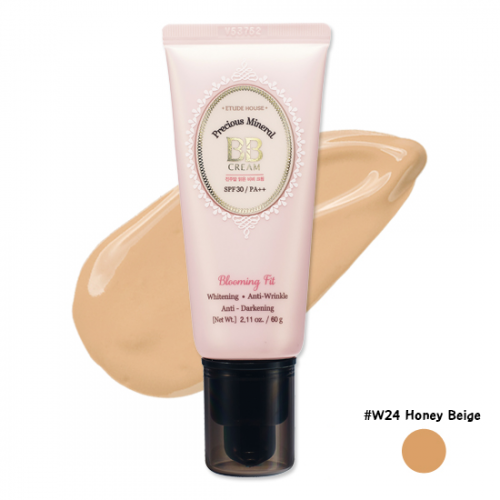 Etude House Precious Mineral Blooming Fit BB Cream SPF30 PA++ #W24 Honey Beige