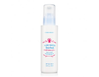 Etude House Pure Water Baobab Mild Lotion SPF30 PA++