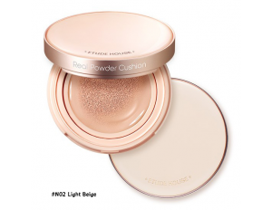 Etude House Real Powder Cushion SPF50+ PA+++ #N02 Light Beige