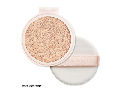 Etude House Real Powder Cushion SPF50+ PA+++ (Refill) #N02 Light Beige