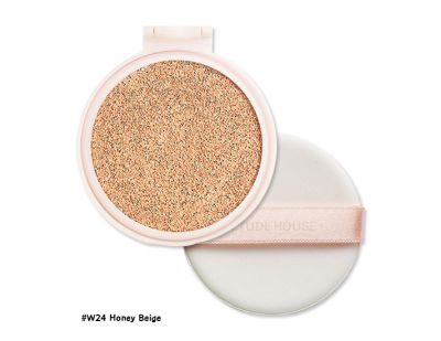 Etude House Real Powder Cushion SPF50+ PA+++ (Refill) #W24 Honey Beige