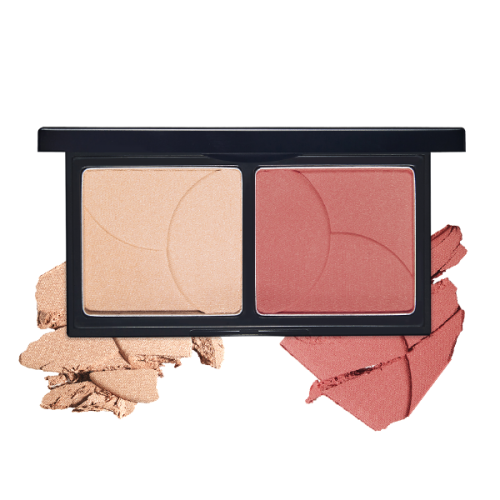 Etude House Shining Powder Cheek Duo #2 Rosy Harmony Duo