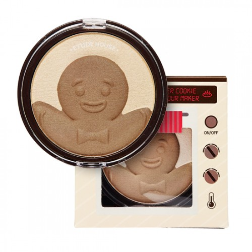 Etude House Snowy Dessert Ginger Cookie Contour Maker