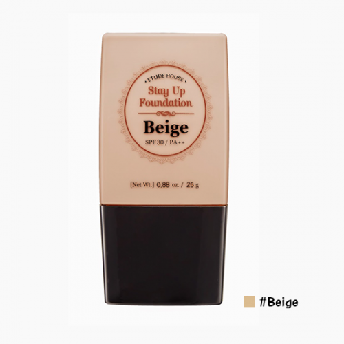 Etude House Stay Up Foundation SPF30 PA++ #‎Beige ผิวขาวเหลือง