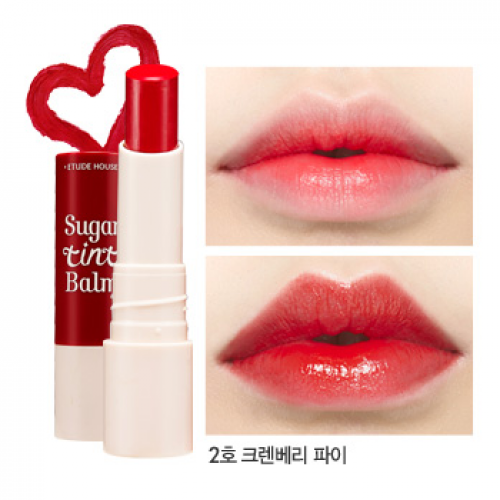 Etude House Sugar Tint Balm #2 Cranberry Pie
