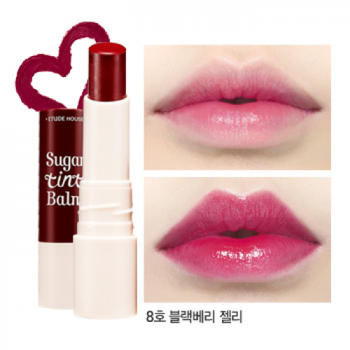 Etude House Sugar Tint Balm #8 Blackberry Jelly