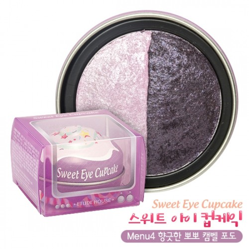 Etude House Sweet Eye Cupcake #Menu4