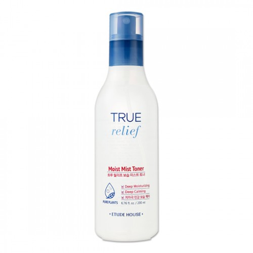 Etude House True Relief Moist Mist Toner