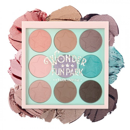 Etude House Wonder Fun Park Color Eyes #1 Would Be Great For Spring & Summer While