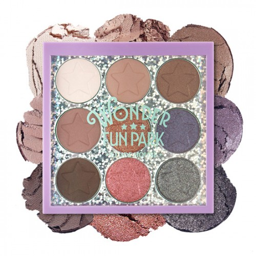 Etude House Wonder Fun Park Color Eyes #2 Will Be Great For Autumn & Winter