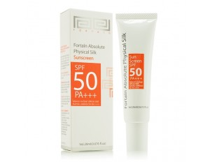 Fortaîn Absolute Physical Silk Sunscreen SPF50 PA+++ 20 ml.