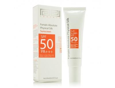 Fortaîn Absolute Physical Silk Sunscreen SPF50 PA+++ 20 ml.