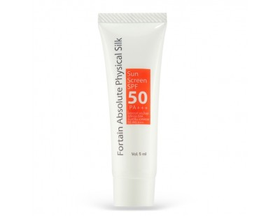 Fortaîn Absolute Physical Silk Sunscreen SPF50 PA+++ 5 ml.