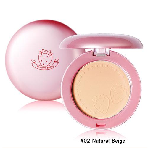 Holika Holika Pore Magic Cover BB Pact SPF35 PA++ #02 Natural Beige