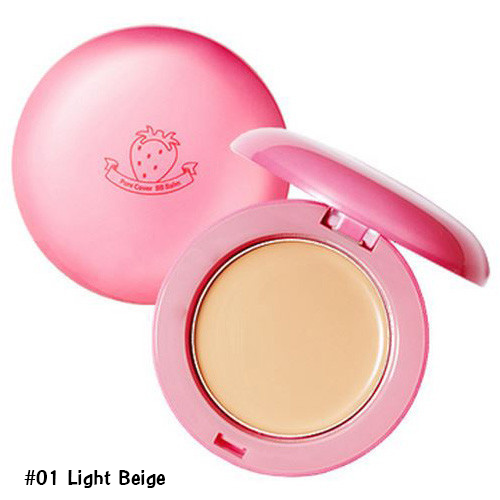 Holika Holika Pore Cover BB Blam SPF30 PA++ #01 Light Beige