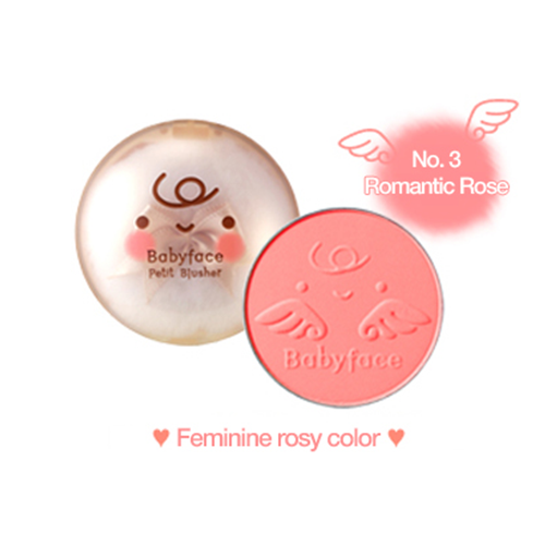 It's Skin Babyface Petit Blusher #3 Romantic Rose