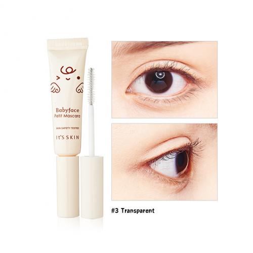 It's Skin Babyface Petit Mascara #3 Transparent