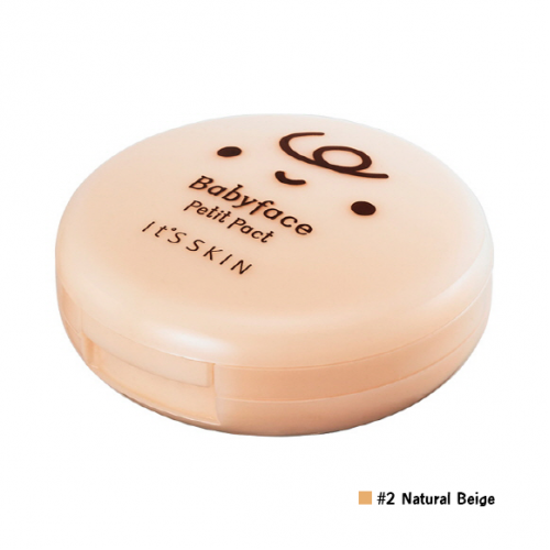 It's Skin Babyface Petit Pact SPF25 PA++ #2 Natural Beige