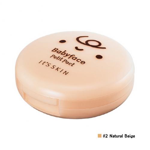 It's Skin Babyface Petit Pact SPF25 PA++ #2 Natural Beige