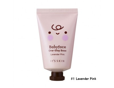 It's Skin Babyface One-Step Base SPF15 #1 Lavender Pink
