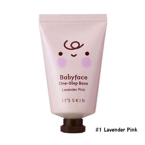 It's Skin Babyface One-Step Base SPF15 #1 Lavender Pink