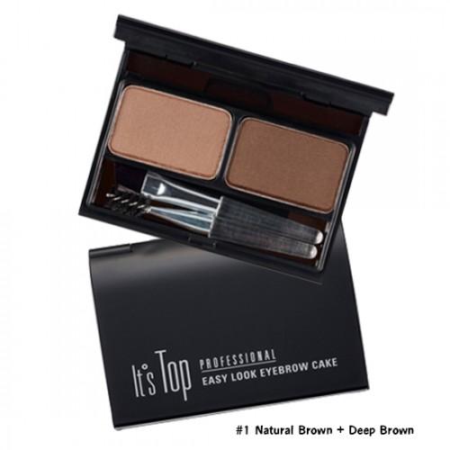 It's Skin It's Top Professional Eyebrow Cake #1 Natural Brown + Deep Brown
