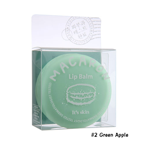 It's Skin Macaron Lip Balm #2 Green Apple