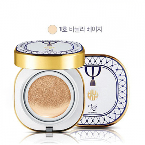 O HUI Ultimate Cover CC Cushion SPF50+ PA+++ #1 Vanilla Beige (Limited)