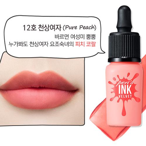 Peripera Perris Ink Velvet #12 Pure Peach