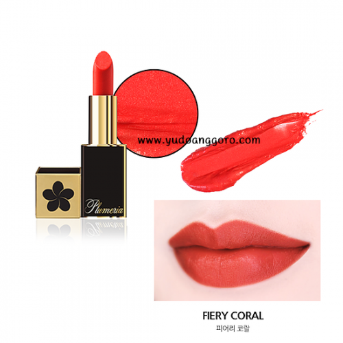 Plumeria Color Infusion Matte Lip #2 Fiery Coral